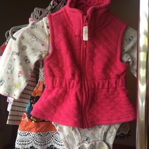 Carter's 3 Months Long Sleeve and Vest